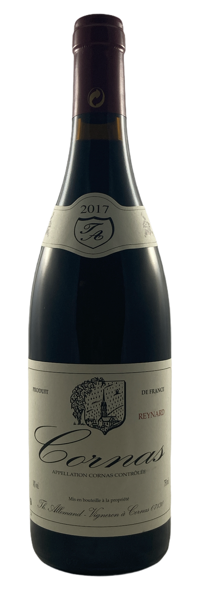 Domaine Thierry Allemand - Cornas - Reynard - 2017 - Rouge