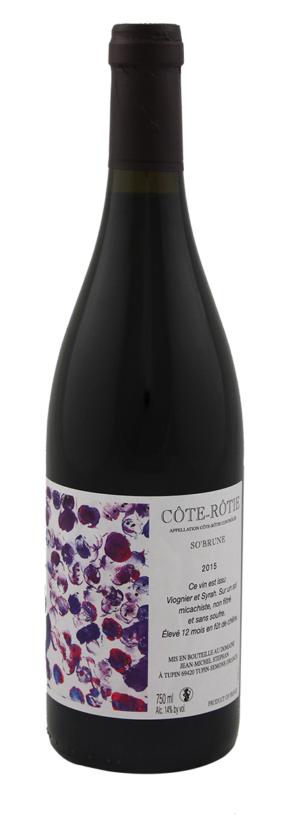 Domaine Jean-Michel Stephan - Côte-Rôtie - So'brune - 2018 - Rouge